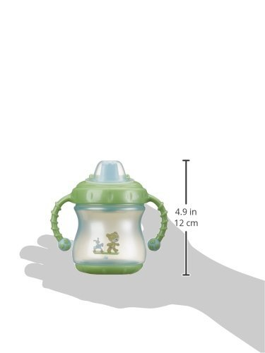 Baby Blue Pearl//Mint Green Pearl Rotho Babydesign Best Friends Twin Handle Non Spill Cup