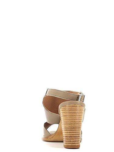 Sandalen Frauen Absatz mit 5118 Keys Taupe hohem X5AIq