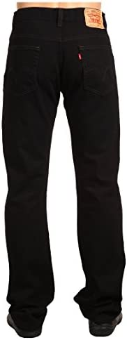ボトムス デニムパンツ 517 Boot Cut Black メンズ [並行輸入品]