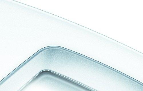 Beurer PS 25 - Báscula de baño con pantalla LCD iluminada, gran plataforma de 34 x 34.5 cm, color blanco: Amazon.es: Salud y cuidado personal