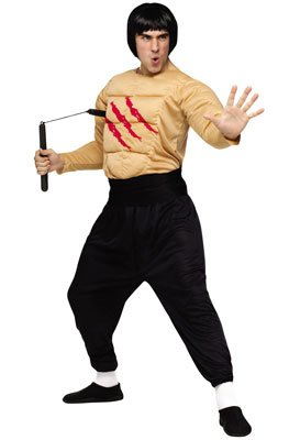 Adults Bruce Lee Costume