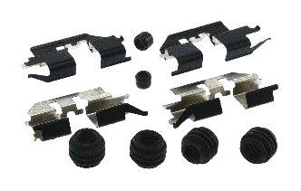 (Carlson Quality Brake Parts 13423Q Disc Brake Hardware Kit)