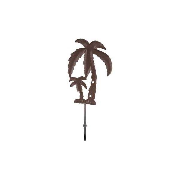 Flip Flop Kay Dee Designs 3 pc Kitchen Towel Cast Iron Palm Tree Hook  Bundle 4 pc Set