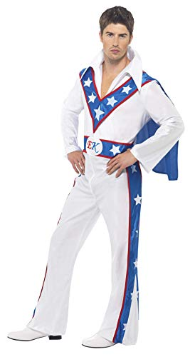 Adult's Evel Knievel Costume - -
