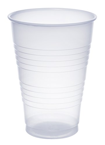 Dart Y14 14 oz Trans Ribbed Wall PS Cup (Case of - 14 Ounce Translucent Cup