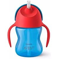 Philips Avent Sipper with Straw 200ml, 9months+ (Blue)