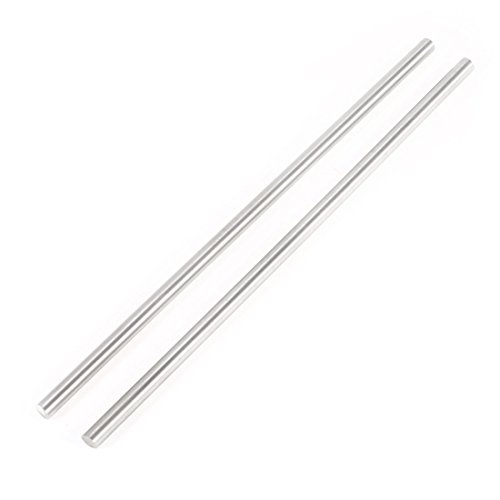 - Uxcell a14021800ux0723 Gray Steel Round Rod Turning Lathe Bars Tool 6mm200mm (Pack of 2)
