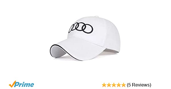 Pink JDclubs Car Logo Embroidered Adjustable Baseball Caps for Men and Women Hat fit Audi Accessory