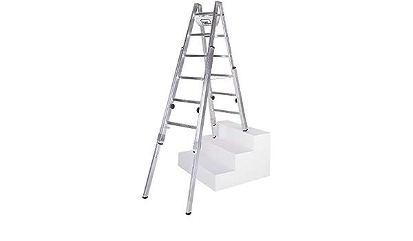 geis & ajos Escalera escalera 61408 multift 2 x 8 peldaños espalderas Escalera 4039665012420: Amazon.es: Electrónica