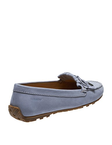 Lt Nubuck Women's Harper Sebago Grey Kiltie Loafers Tie Leather OYpSwx