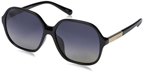 Bolon Women's (bl2510) Polarized Square Sunglasses, Black, 60 - Sunglasses Bolon
