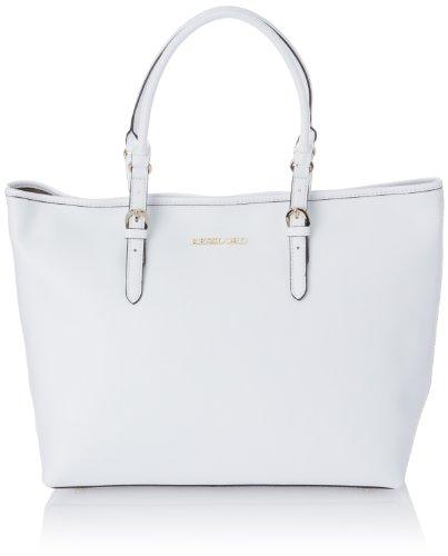 Kesslord Womens Kabas Shoulder Bag White