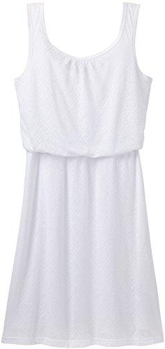 Prana Mika Dress   Womens White Copa Large