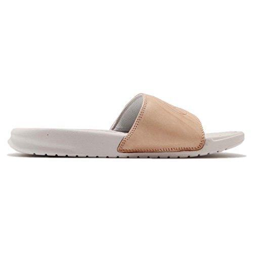 Benassi Gimnasia Mujer Light Nike Tan 200 Vachetta JDI para Wmns Vachetta Bone BP Zapatillas Beige Tan de 4w5YTqx