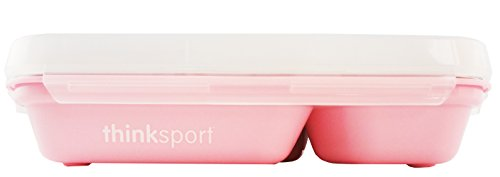 Thinksport GO2 Container, Pink (Stainless Steel Thermo Plate)