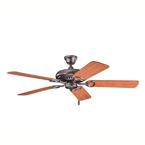 36'x48' Satin (Kichler 339011OBB 52-Inch Sutter Place Fan, Oil Brushed Bronze)