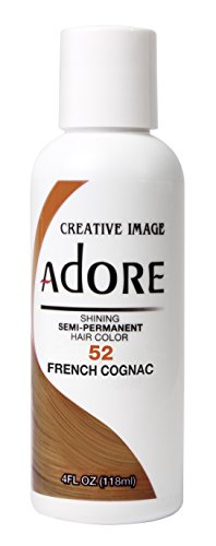 Adore Shining Semi Permanent Hair Colour, 52 French Cognac by (French Cognac)