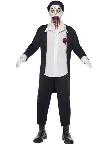Smiffys Haemon Living Dead Doll Vampire Adult Halloween Costume (Dead Doll Costume Halloween)