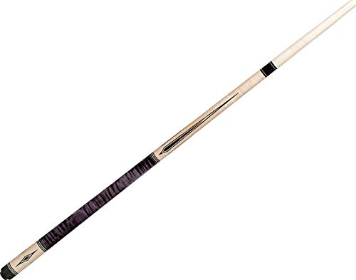 (J. Pechauer JP07-Q Natural/Smoke Stained Maple Pool/Billiards Cue Stick)