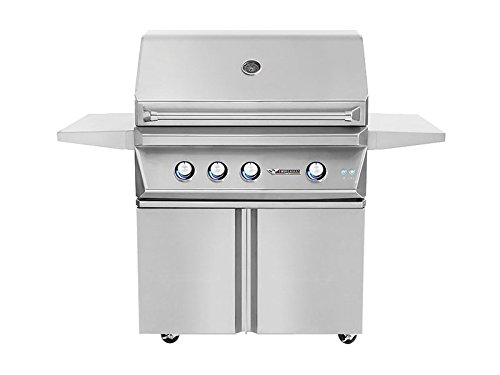 Twin Eagles Double Doors Grill Base (TEGB36-B), 36-Inch