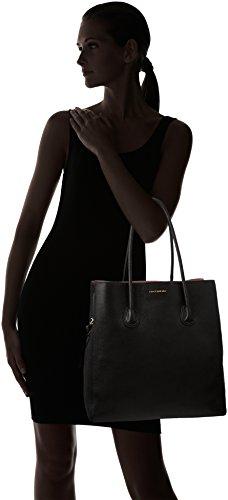 Coccinelle 110101, Bolso Mujer, 12x33x33 cm (W x H x L) Negro (Black)