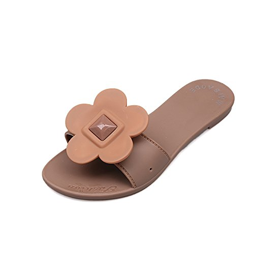 FORTUN Shoes Sweet Beauty Shoes FORTUN Fashion Flat Outdoor Home Slippers Flowers Beach Sandals B07FH7Y5DD Shoes 397983