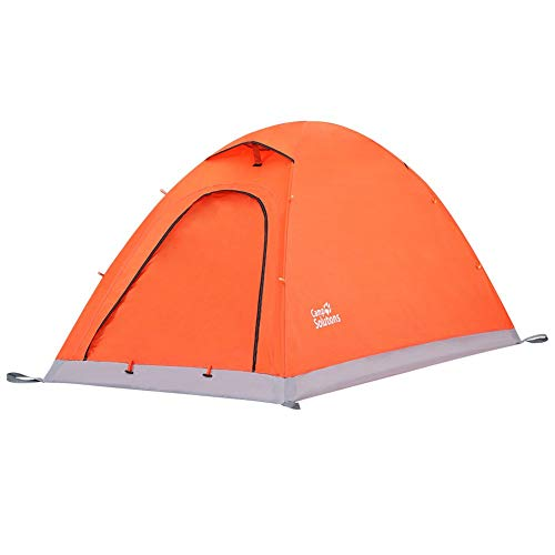 Camp Solutions1-2 Person Camping Tent Portable Folding Waterproof Outdoor Tent for Hiking Climbing