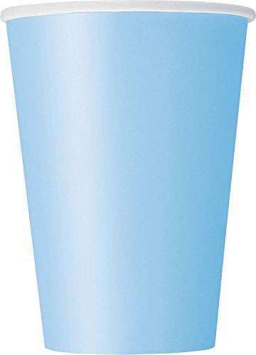 12oz Light Blue Paper Cups