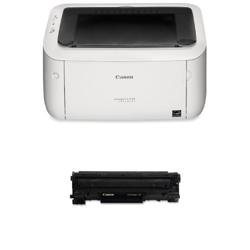 Canon imageCLASS LBP6030w Printer and Canon Black Toner Bundle