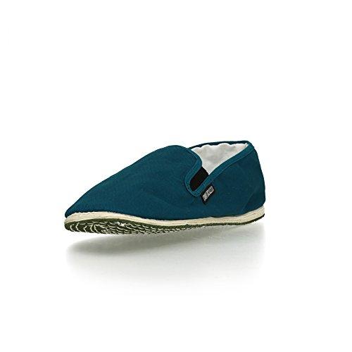 Ethletic Fair Fighter Kung Fu - Farbe coral blue aus Bio-Baumwolle