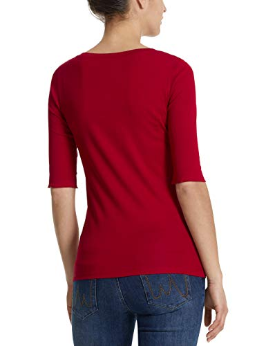 Rojo Mujer Camiseta Collections 288 Marc Para burgundy Cain ZwEXZq0I