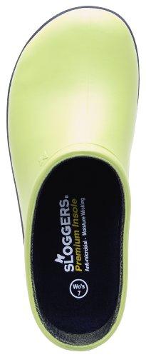 Sloggers Women's  Premium Garden Clog,  Kiwi Green, Size 8, Style 260KW08 - Image 4