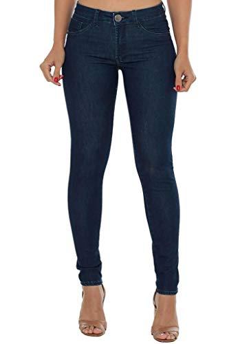 Calça Jeans Denuncia New Skinny Azul Pp