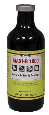 Durvet Vitamin Maxi B 1000 250 mL 250ML by Durvet