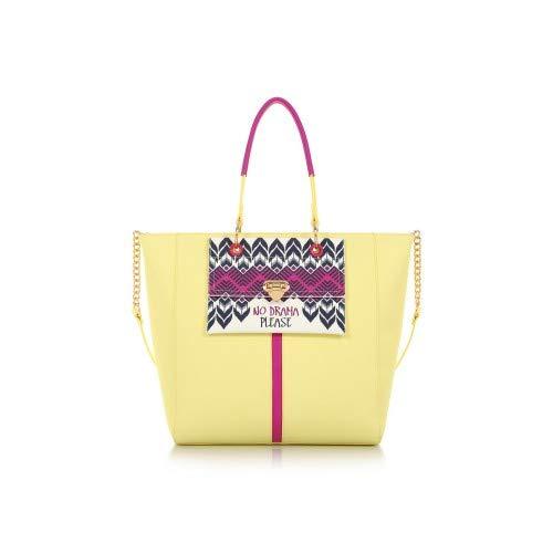ef38b228f6 LE PANDORINE Borsa Magic Bag SORRISO Yellow: Amazon.it: Scarpe e borse