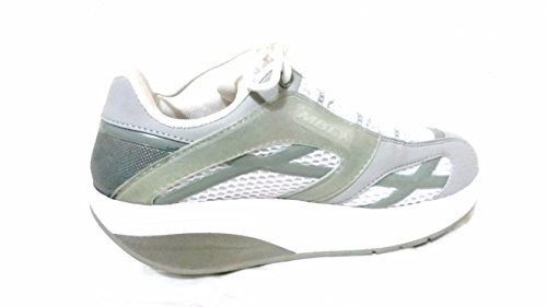 MBT Shoes M-walk Silver Sport - Womens Size 6 Mbt Fitness Shoes