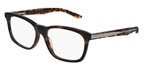 Balenciaga BB0028O Eyeglasses 002 Havana-Havana 55mm