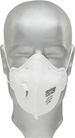 Tector - 12x Einweg Atemschutzmasken FFP3 gefaltet, mit Ventil