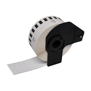 Prestige Cartridge Etichetta per Rotolo, Sostituisce DK22210, 29mm x 30.48m, 10 Pezzi, Bianco Ten DK-22210