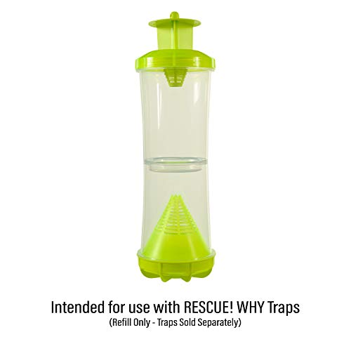 RESCUE! Non-Toxic Wasp, Hornet, Yellowjacket Trap (WHY Trap) Attractant Refill - 2 Week Refill