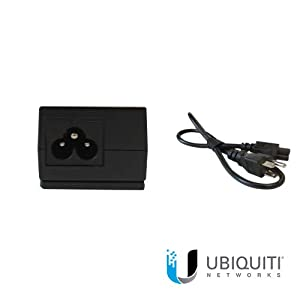 Ubiquiti Networks 24-Volt Dc 12W Poe Adapter, Max Surge Discharge 1500A Power - Protects Against ESD Events - Compatible…