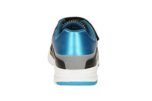 Correr Piel Zapatillas De Reflectspy Montaña Clarks Niño Azul Para En Inf x8EIgwUOq