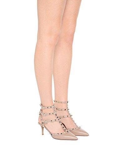 Pointu Bout Femmes Nude Sandales Caitlin à Stud Escarpins Matte lanières de Sangles cloutées de Pompes Chaussure Gold Robe Pan Cheville WtBnxWqwI