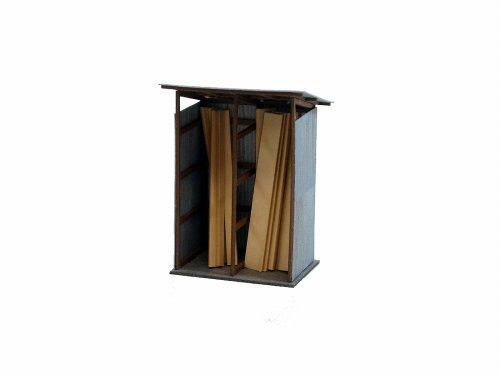 1/150 Diorama Option Kit cour à bois (MP04-27)