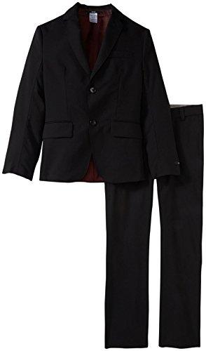 Hugo Boss Boys' Boss Essential Suit, Black 5A by Hugo Boss (Image #1)
