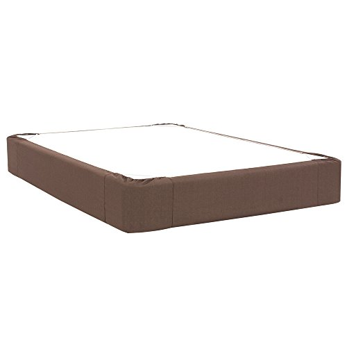 Queen Box Spring Cover (Howard Elliott 242-202 Boxspring Cover (Boxspring not included), Queen, Sterling Chocolate)