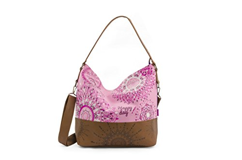-g255005- Gs Urban Pattern Pink Bag