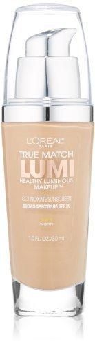 L'Oreal Paris True Match Lumi Healthy Luminous Makeup, Sand Beige, 1.0 Ounces by L'Oreal Paris Cosmetics