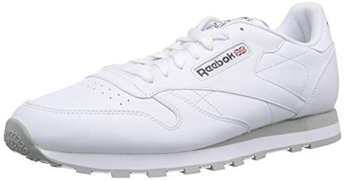 Grey Erwachsene Weiß Leather Sneakers Classic Int Lt white Unisex Reebok qwC5zHC