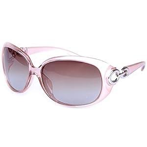 Women Gradient Polarizated Sunglasses Frog Mirror Type